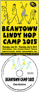 Beantown Camp 2015 Class Review DVD
